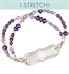Kaylee Stretch Medical ID Bracelet