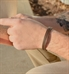 Hendrix Med ID Bracelet in Brown Leather
