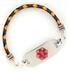 Carnival Bolo 3MM Medical ID Bracelet | Lauren's Hope