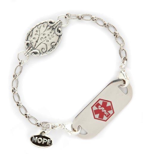 Vivian's Garden Medical ID Bracelet