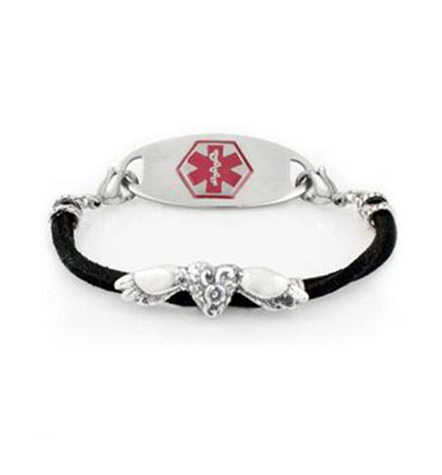 Raven Medical ID Bracelet | Lauren's Hope