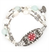 Seaside Medical Alert Bracelet with Gardenia Tag