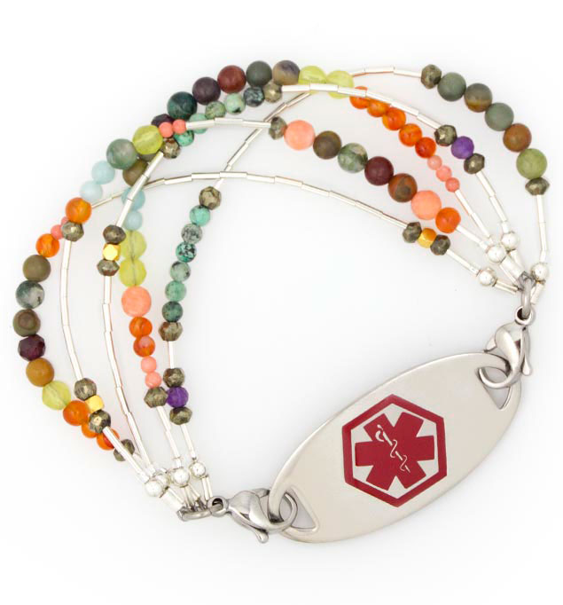 Serendipity Medical Alert Bracelet With Tag