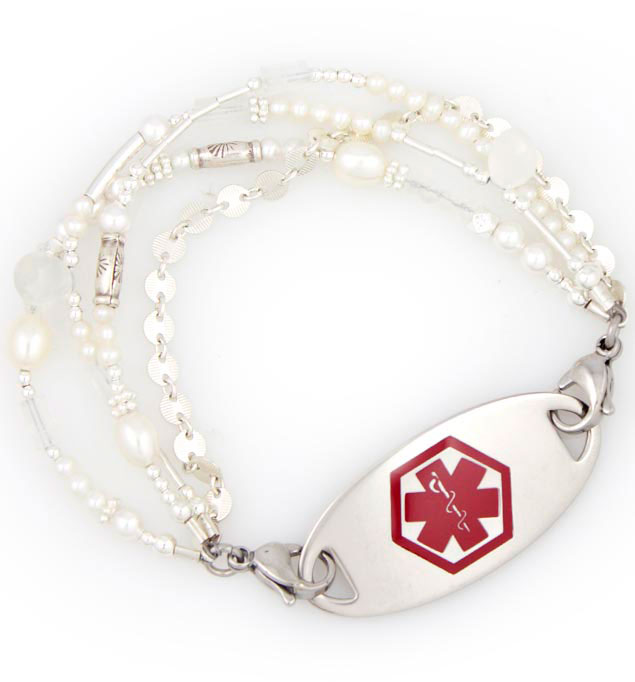 Heritage Medical ID Bracelet with tag