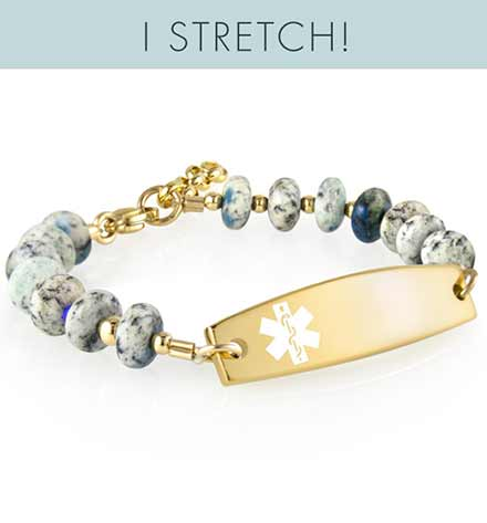 Sandy Smart Stretch Med ID Bracelet