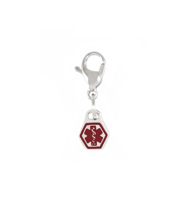 Fontsy Medical Caduceus Charm