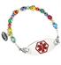 Small Fun Glass Medical ID Bracelet