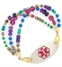 Gemini Medical Alert Bracelet For Women With Tag
