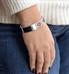 Madison Hinged Medical ID Bracelet