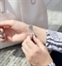 Custom laser engraved medical alert tag with decorative edge