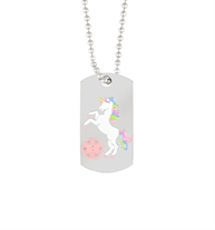 Unicorn Medical ID Dog Tag | Lauren's Hope