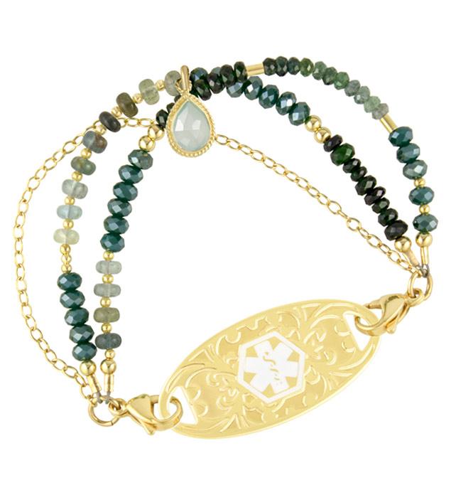 Emerald Isle Medical ID Bracelet