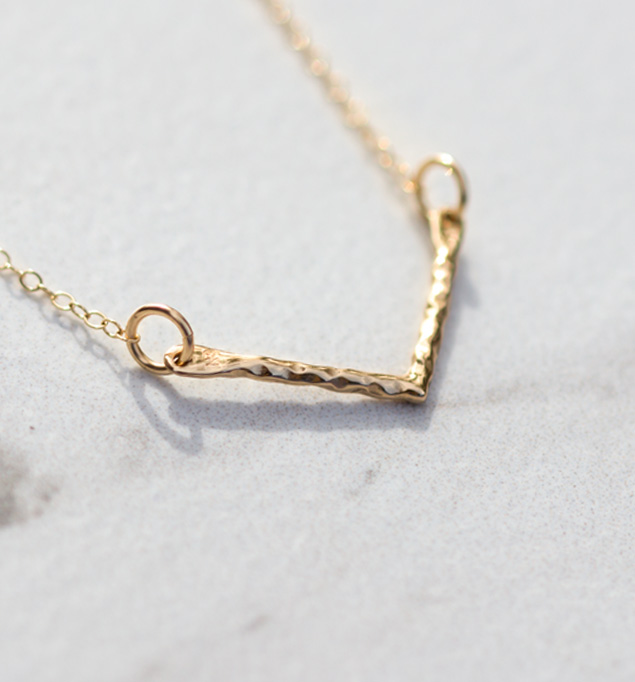 Shiloh Necklace in Gold