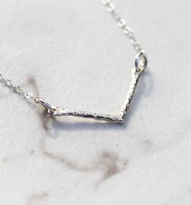 Shiloh Necklace in Silver