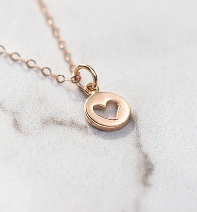 Cameron Necklace in Rose Gold