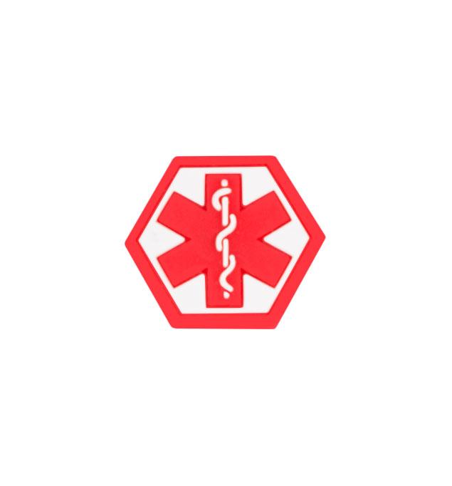 Silicone Medical Caduceus Symbol Jelly Button
