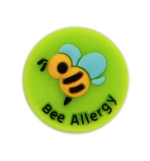 Jelly Button Silicone Bee Allergy