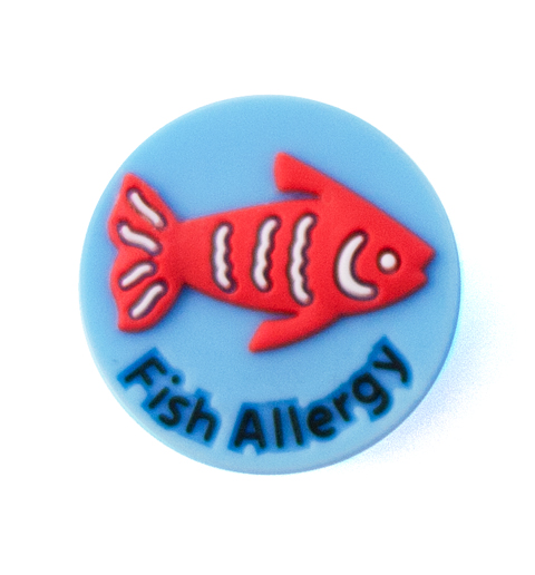 Jelly Button Silicone Fish Allergy
