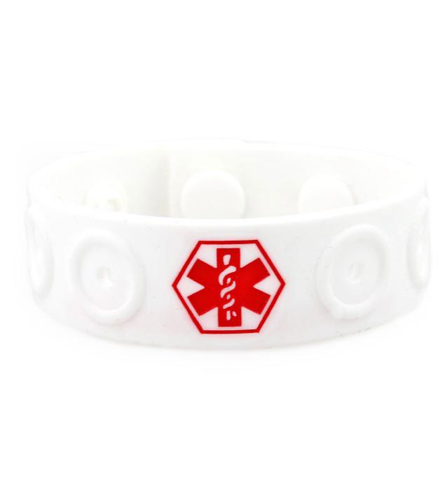 Jelly Band Silicone Medical Alert Bracelet