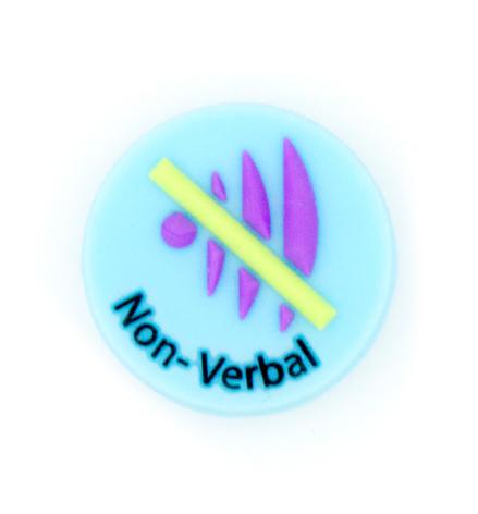 Jelly Button Silicone Non Verbal