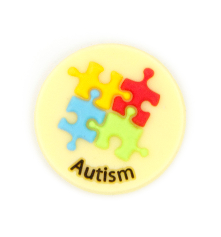 Jelly Button Silicone Autism