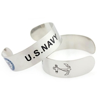 Navy Cuff | Lauren's Hope