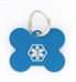 Pet Medical ID Tag Medium (Blue)