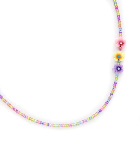 Multi Flower Replacement Necklace