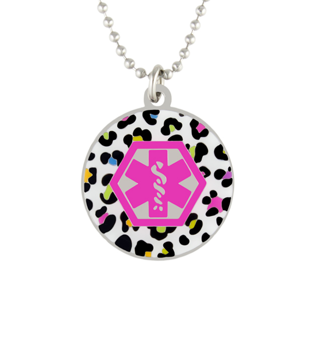 Color Me Fun Medical ID Necklace