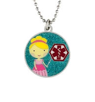 Princess Lily Medical ID Necklace