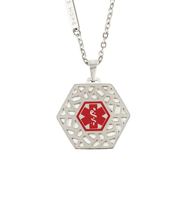 Fusion Med ID Necklace