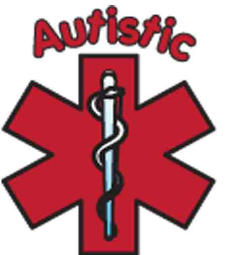 Autistic Temporary Medical Tattoo