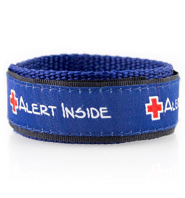 Navy Blue Adjustable Medical Alert