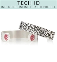 Filigree Tech Med ID Cuff