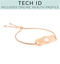 SmartFit Tech Med ID in Rose Gold Tone