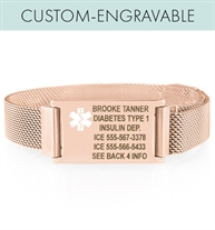 Urban Tech Med ID in Rose Tone