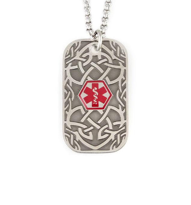 Antique Donovan Medical ID Necklace