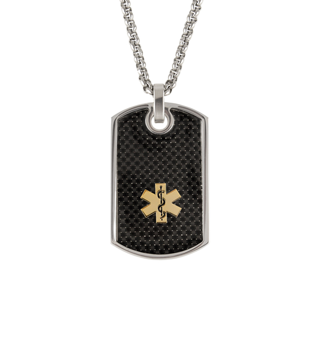 Stingray Med ID Dog Tag
