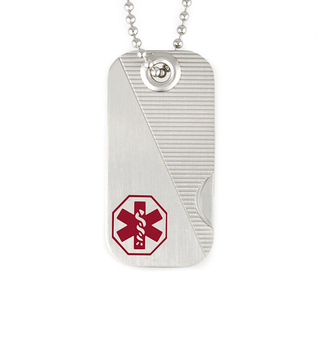 Swiss Army Medical ID Dog Tag