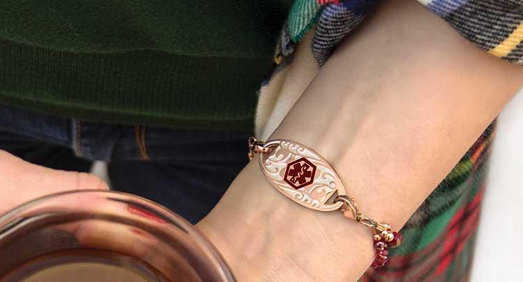 Women's Medical ID Bracelets