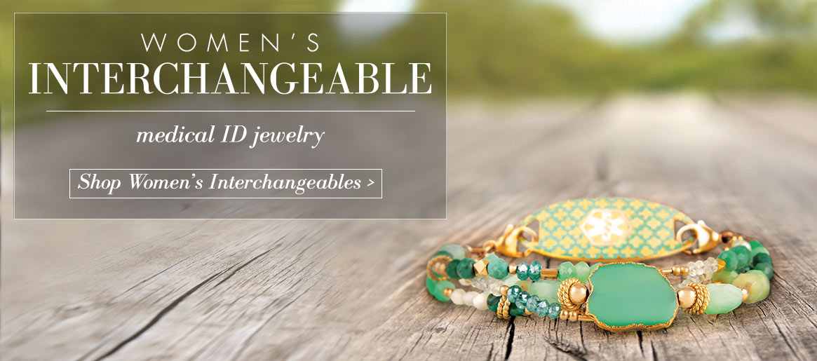 Interchangeable Medical ID Bracelets | Lauren's Hope