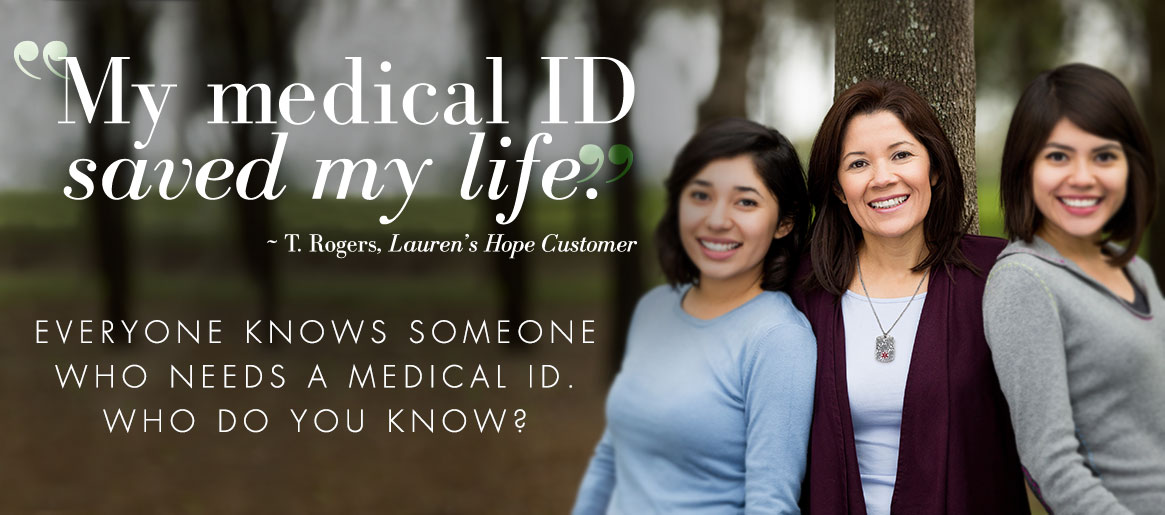 My Medical ID Saved My Life | Lauren's Hope