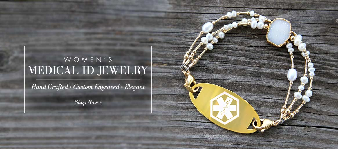 Women's Medical ID Jewelry