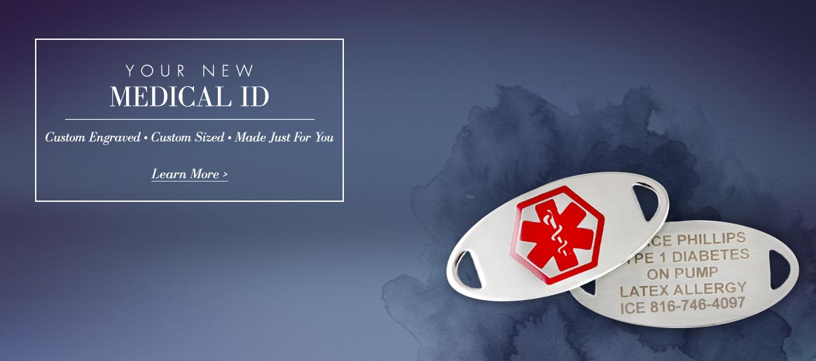 Interchangeable Medical ID Tags