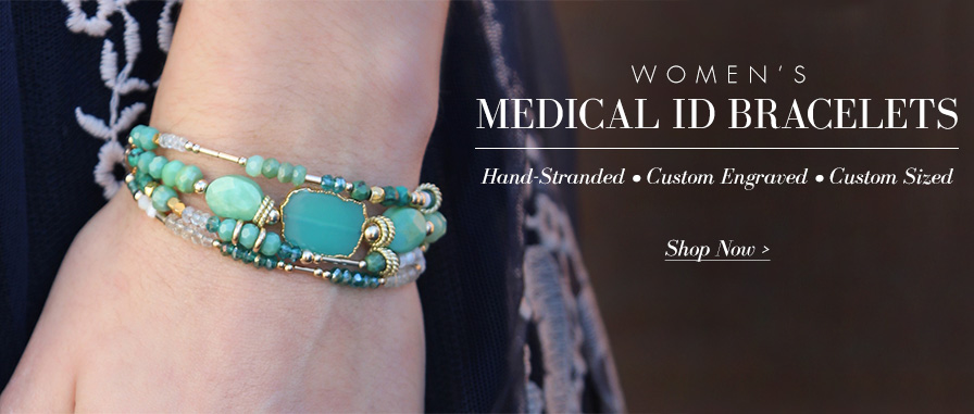 Women's Medical ID Bracelets | Lauren's Hope