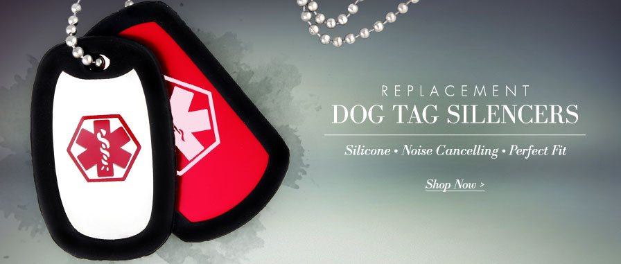Lauren's Hope Replacement Dog Tag Silencers